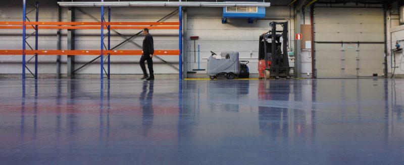 Vloercoatings en gietvloeren voor zelfstandigen - industrie en magazijn