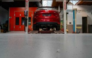 Coating voor automotive en carwash - gietvloer 2
