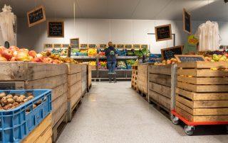 Vloercoating voor kantoor en retail - voedingssector