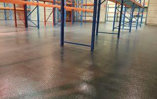 Waterdichte troffelvloeren met antislip voor magazijn