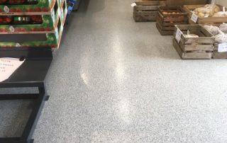 Vloercoating voor kantoor en retail - voedingsindustrie