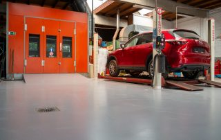 Coating voor automotive en carwash - gietvloer 1