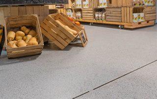 Vloercoating voor kantoor en retail - voedingszaak - Duurzame vloercoatings en epoxy gietvloeren - Duurzame vloercoatings en epoxy gietvloeren